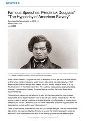 speeches douglass slavery 15291 article only