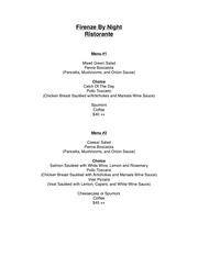 PDF Document firenze 2018 banquet menu