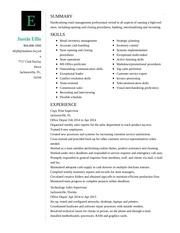 justin ellis resume 1