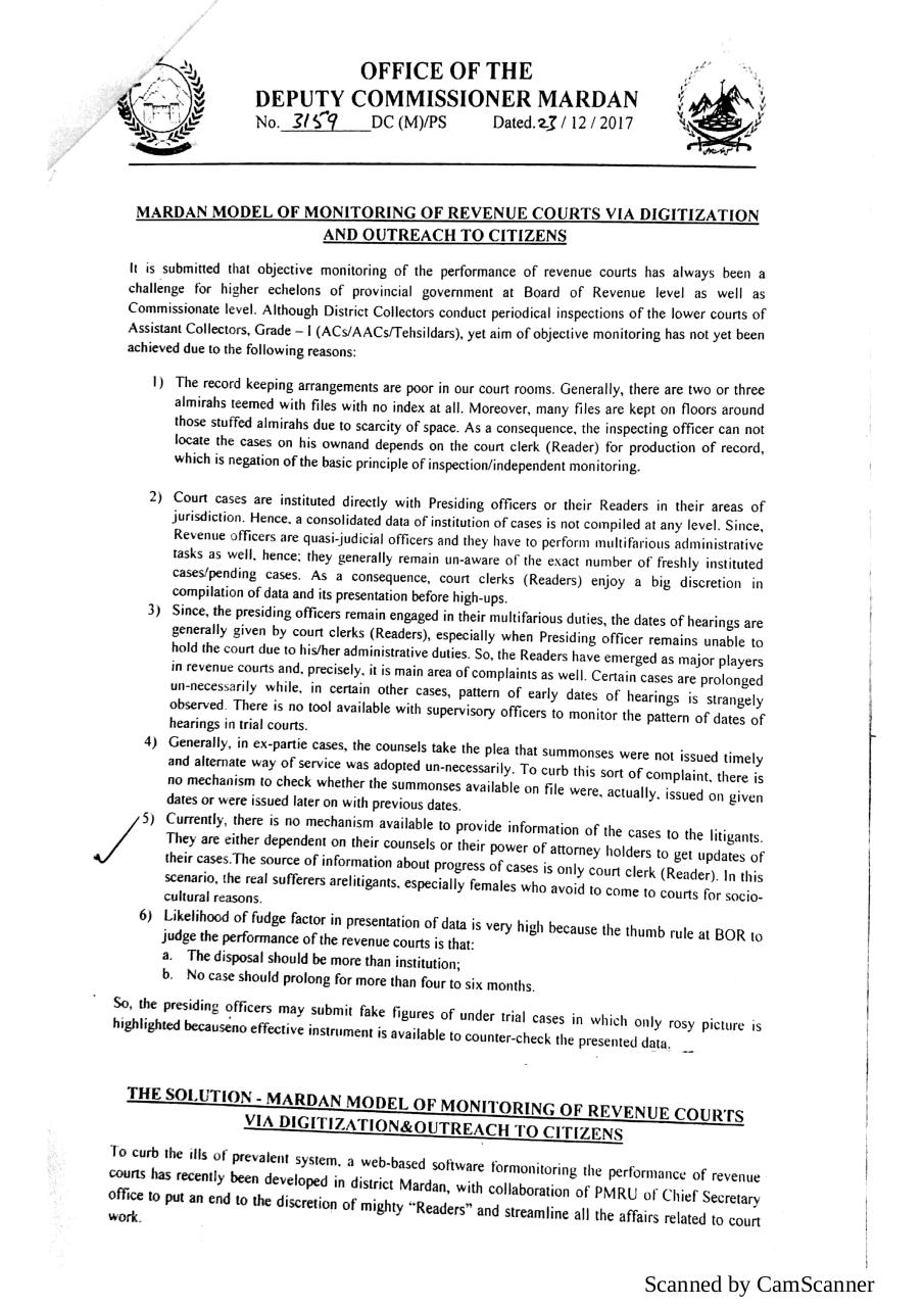 Mardan model of monitoring of revenue courts.pdf - page 2/4
