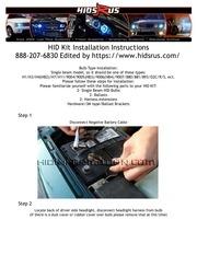 PDF Document hid kit installation instructions