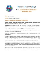 national assembly days 2018 concept paper docx