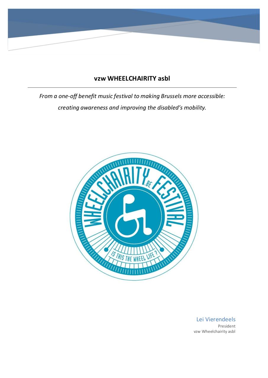 Document preview Wheelchairity 2018 - Sponsoring ENGLISH.pdf - page 1/4
