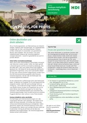 hdi highlightblatt drohnenversicherung