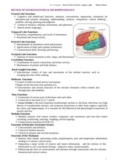 review of basic neuroscience