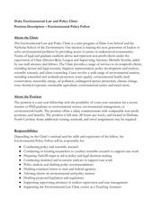 01 22 2018 job description environmental policy fellow final