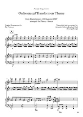 PDF Document transformers partitura completa