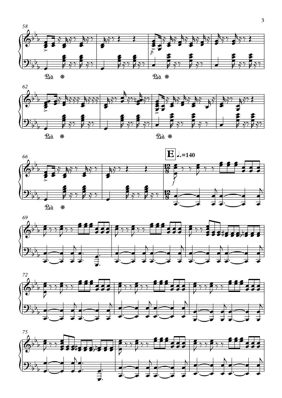 Yesteryear - Partitura completa.pdf - page 3/8