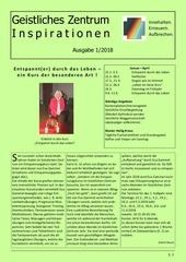 newsletter geistliches zentrum 1 2018 endfassung gbd
