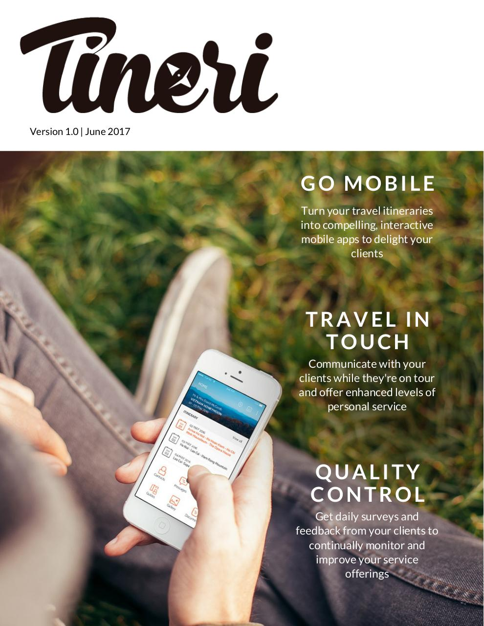 Tineri Mobile Itinerary Brochure.pdf - page 1/7