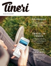 tineri mobile itinerary brochure