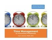 procurepath time management 4 2