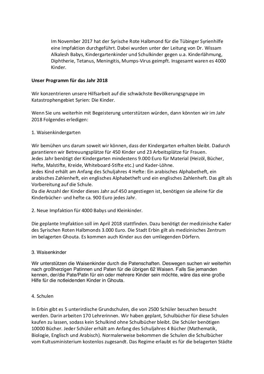 Document preview Rundschreiben Januar 2018-1.pdf - page 2/3
