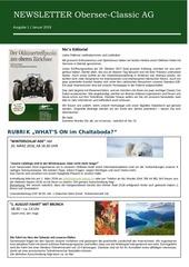 newsletter nr 1