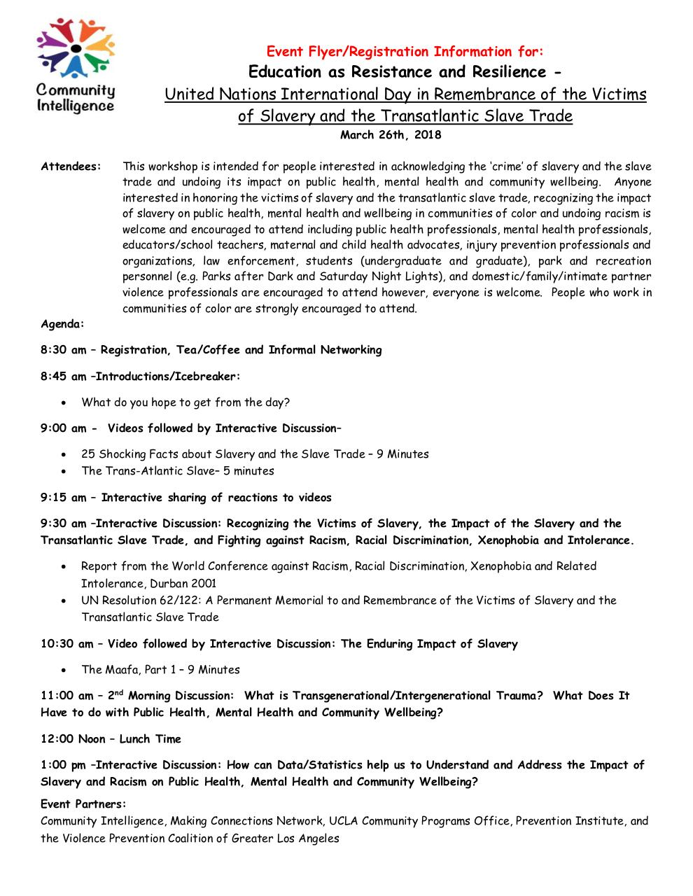 Registration Info and Agenda for Education as Resistance.pdf - page 2/3