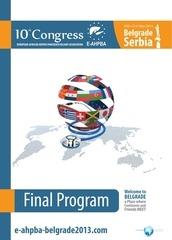 168880080 e ahpba 2013 congress book