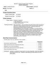 PDF Document end of semester 1 evaluation andrew rausch