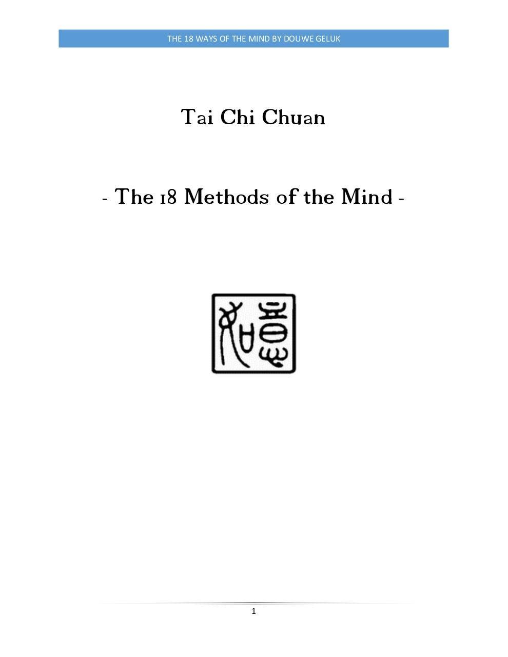 Tai Chi Chuan Pdf