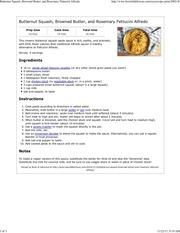 butternut squash fettucini alfredo