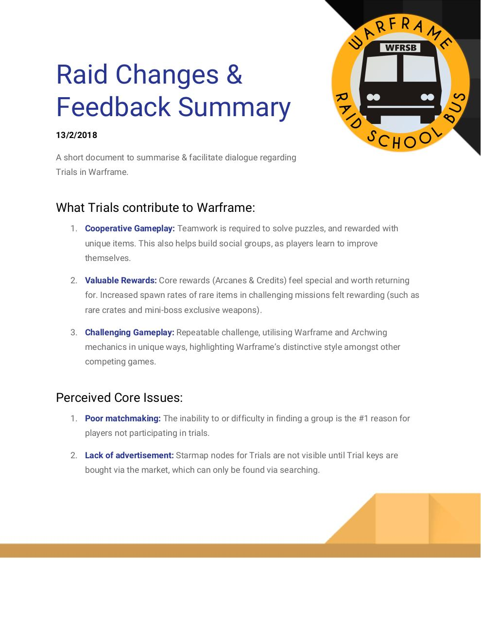 Raid_Changes_Feedback_Summary.pdf - page 1/8