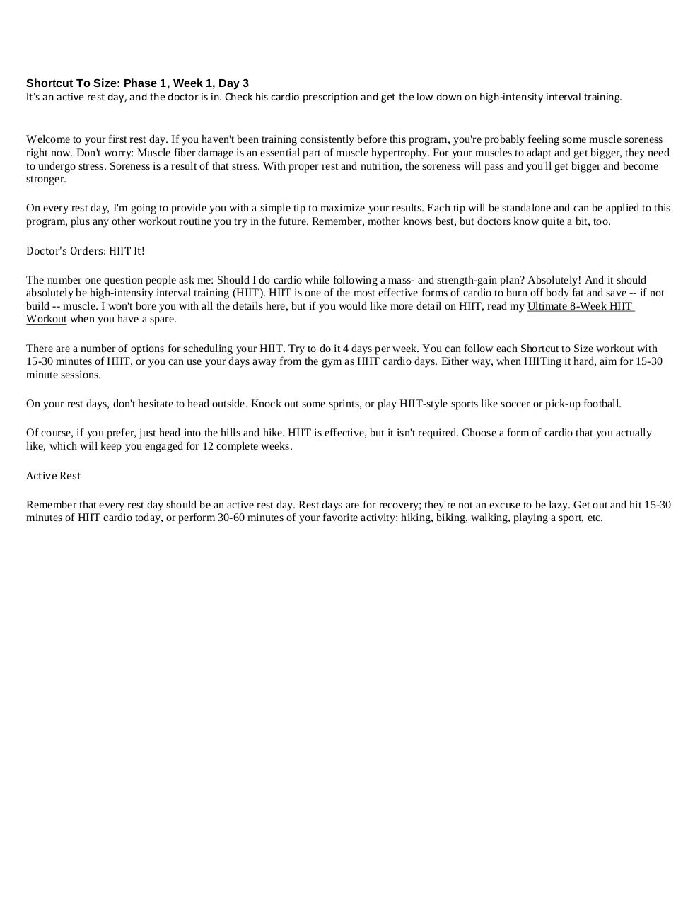 Jim Stoppani's Workout Log Bodybuilding com by FooGi