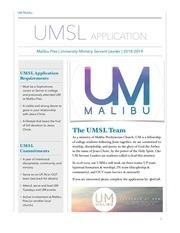 umsl application