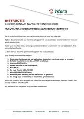 instructie vitaro koppeling husqvarna sh