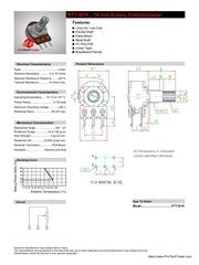 ptt b1k rotary potentiometer datasheet