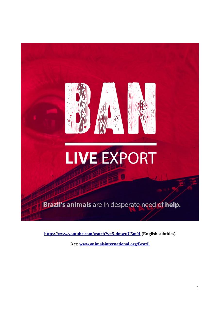 BAN LIVE EXPORT.PDF - page 1/106