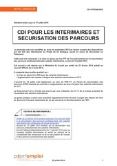 compilation notes prisme cdii contingent heures supp