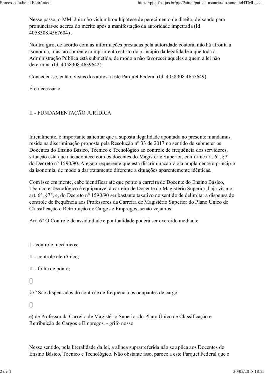 Document preview Parecer MPF.pdf - page 2/4