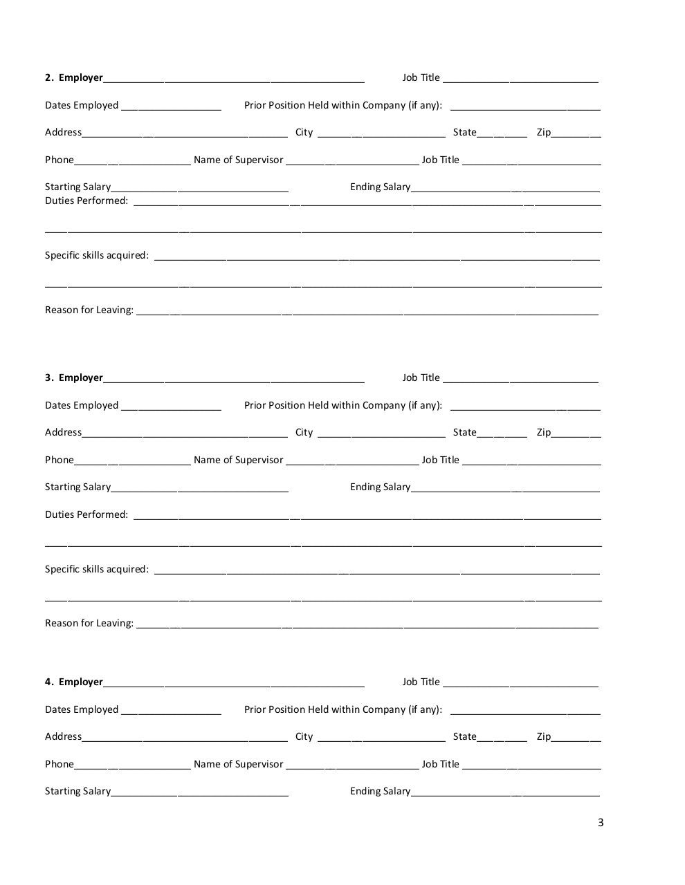 company name by patrick dells vet standard job application form