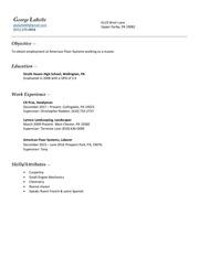 george labelle resume