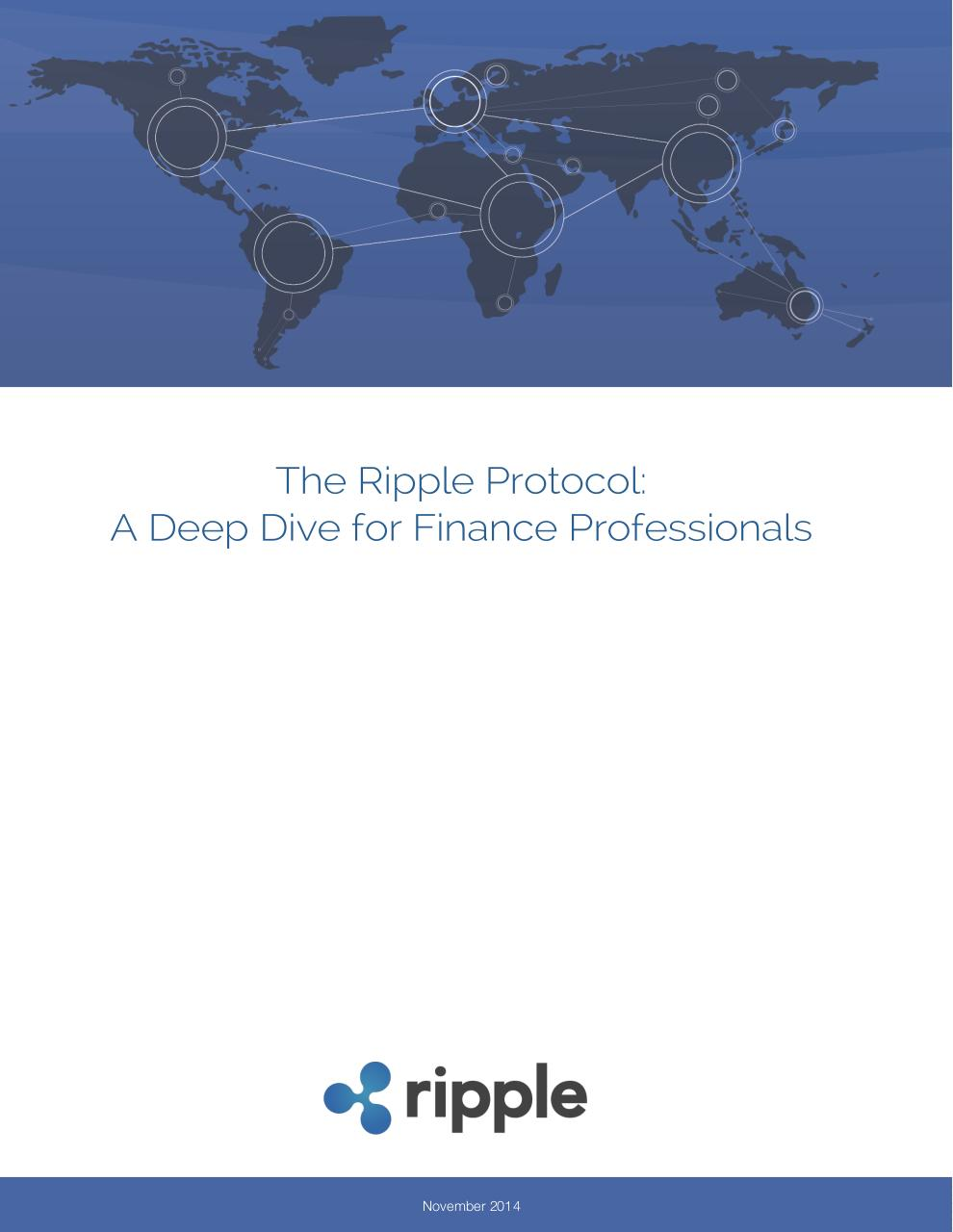 Ripple Protocol - Deep Dive For Financial Professionals.pdf - page 1/47