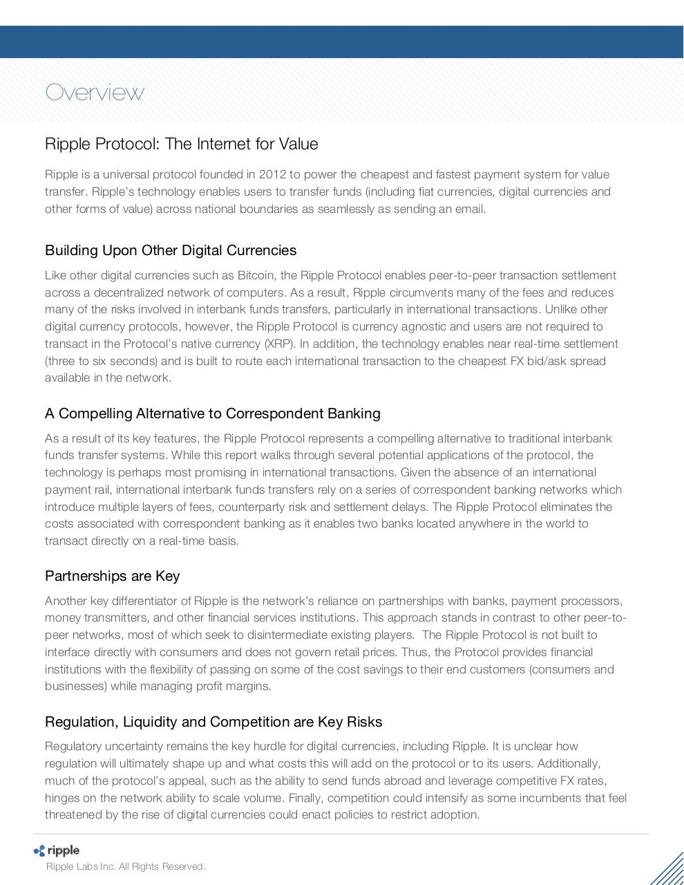 Ripple Protocol - Deep Dive For Financial Professionals.pdf - page 2/47