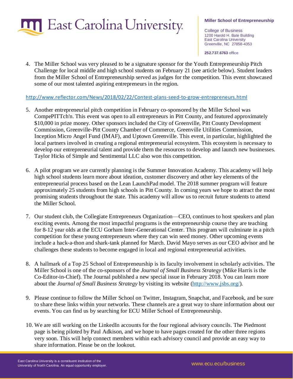 Document preview Miller School February 2018 updates.pdf - page 2/2
