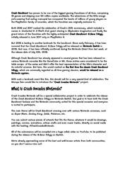 crash invades nintendo rules guidelines