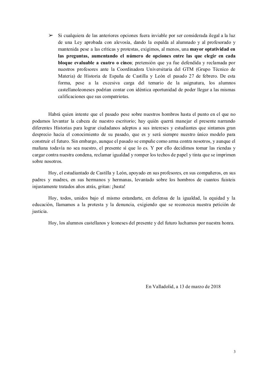 Document preview MANIFIESTO - Castilla y León, con honra.pdf - page 3/3