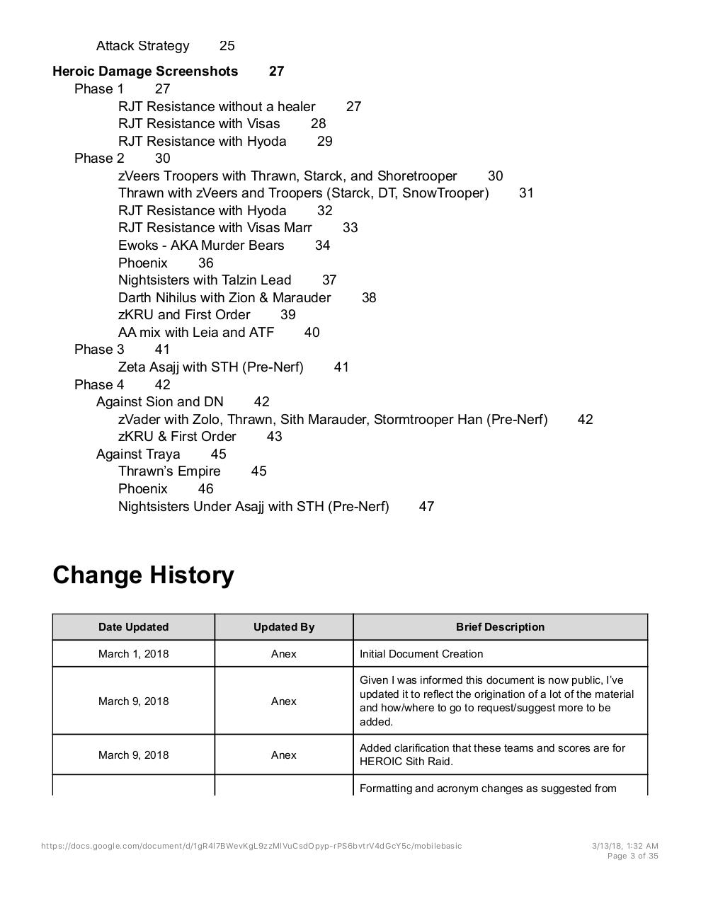 Sith Raid Teams and Strats - PDF Archive