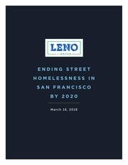 ending street homelessness