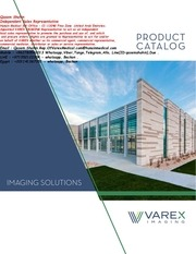 hunain medical rep of varex imaging products catalog 2018