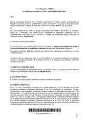 PDF Document contract de credit prelungire cu majorare overdraft