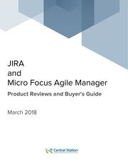 jira vs micro focus agile manager report