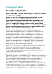pressebericht zwischenbilanz schlossplatz