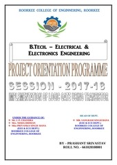 project on orientation programme
