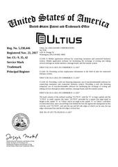 ultius logo uspto filing 11 21 2017