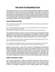 PDF Document the path to resurrection