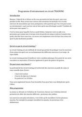 PDF Document programme sport circuit training