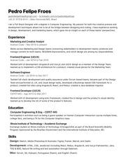 PDF Document full stack designer pedro felipe froes