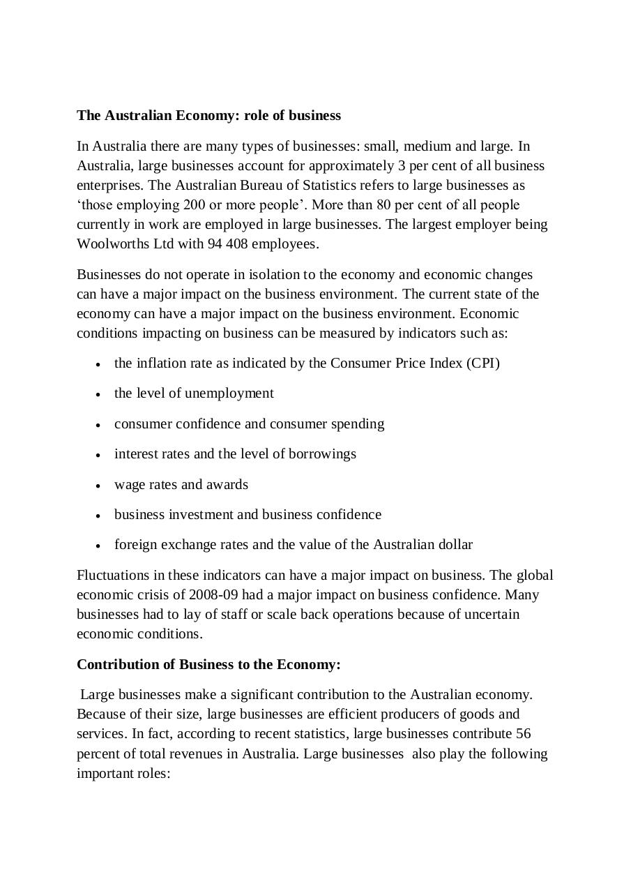 Impact of businesses on the economy in Australia.pdf - page 3/15